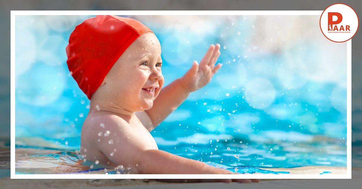 Rozwój niemowląt poprzez pływanie
