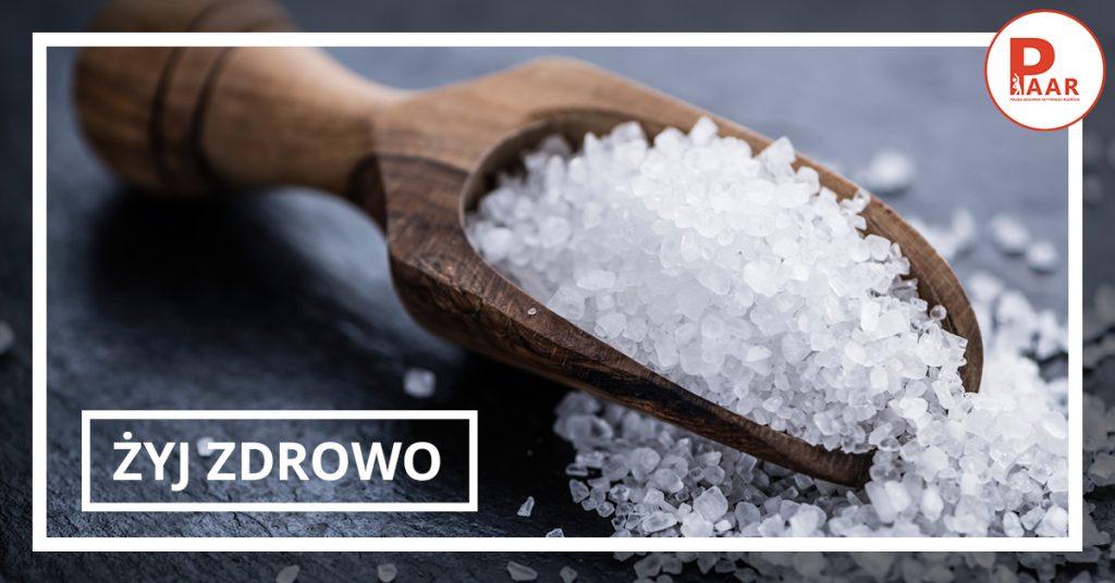 Żyj zdrowo! Sól kuchenna