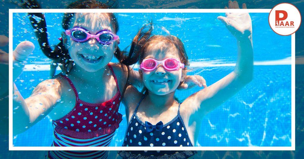 Wpływ nauki pływania narozwój dziecka